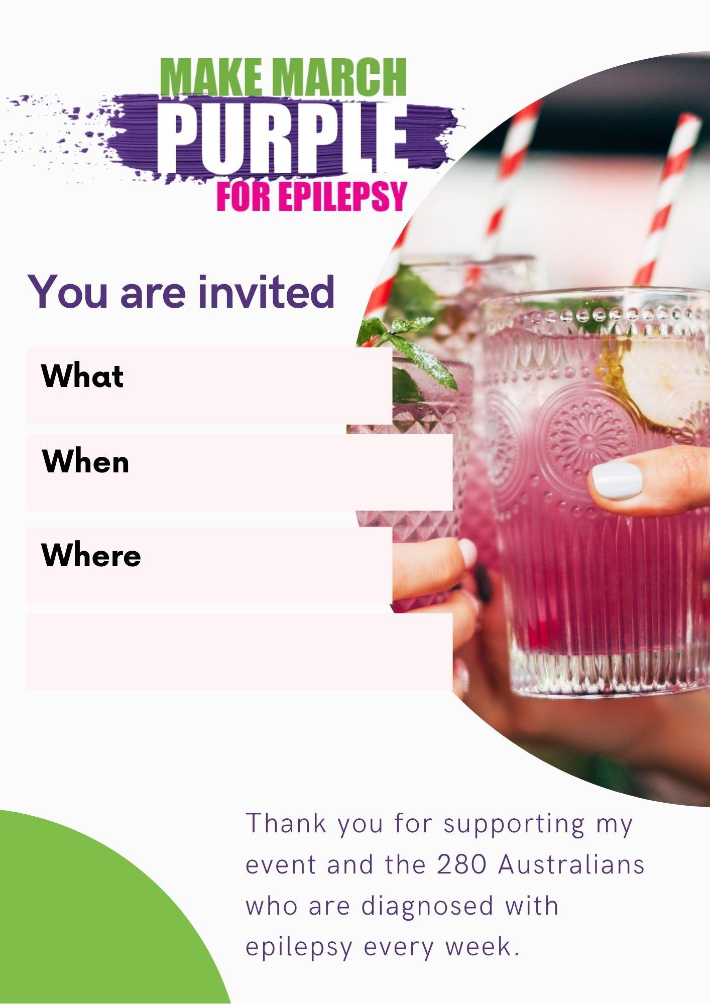 Cocktails Invite