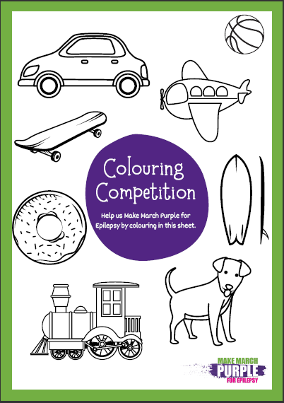 Host your own Colouring Competition_Poster