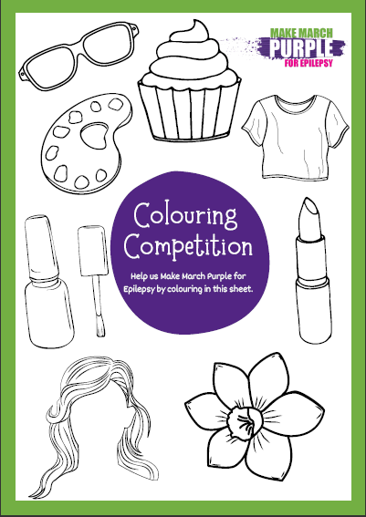 Host your own Colouring Competition Poster